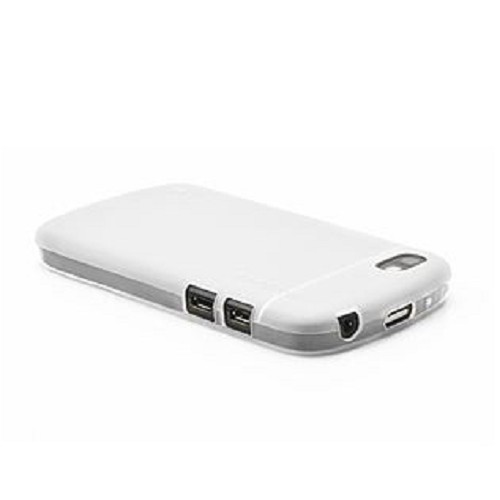 CAPDASE Soft Jacket for BB Q10 [SJBBQ10-P202-BB] - Tinted White - Casing Handphone / Case